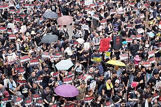 Visuel Soutenir la liberté d'expression à Hong Kong