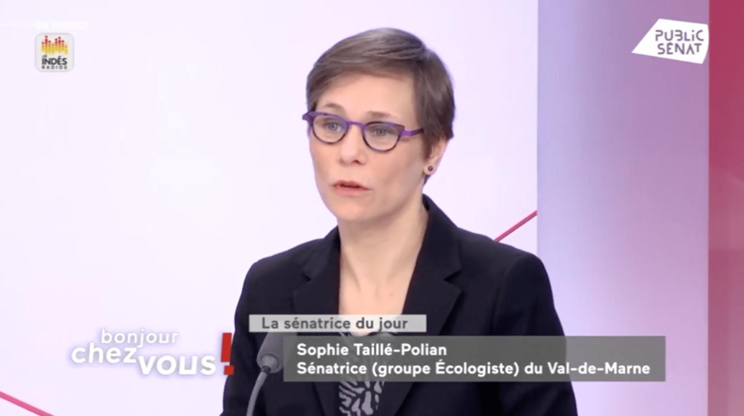 Visuel Police : « l'IGPN doit devenir indépendante du ministère de l'Intérieur », plaide Sophie Taillé-Polian – par Public Sénat