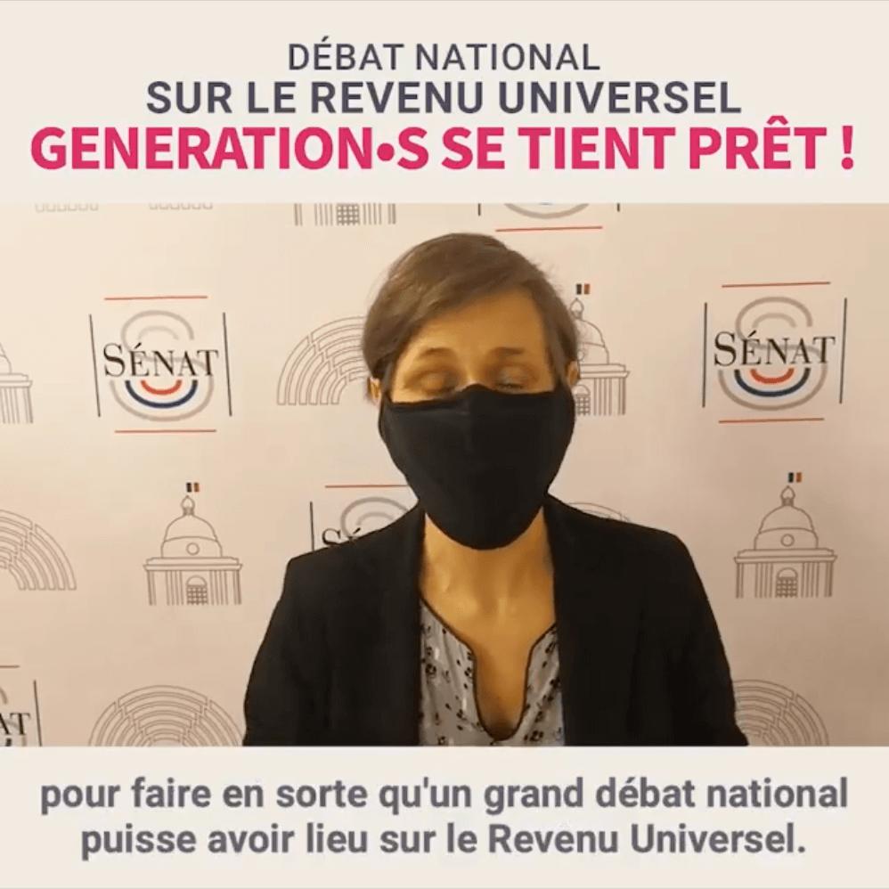 Visuel Débat national sur le Revenu Universel : Génération.s se tient prêt !