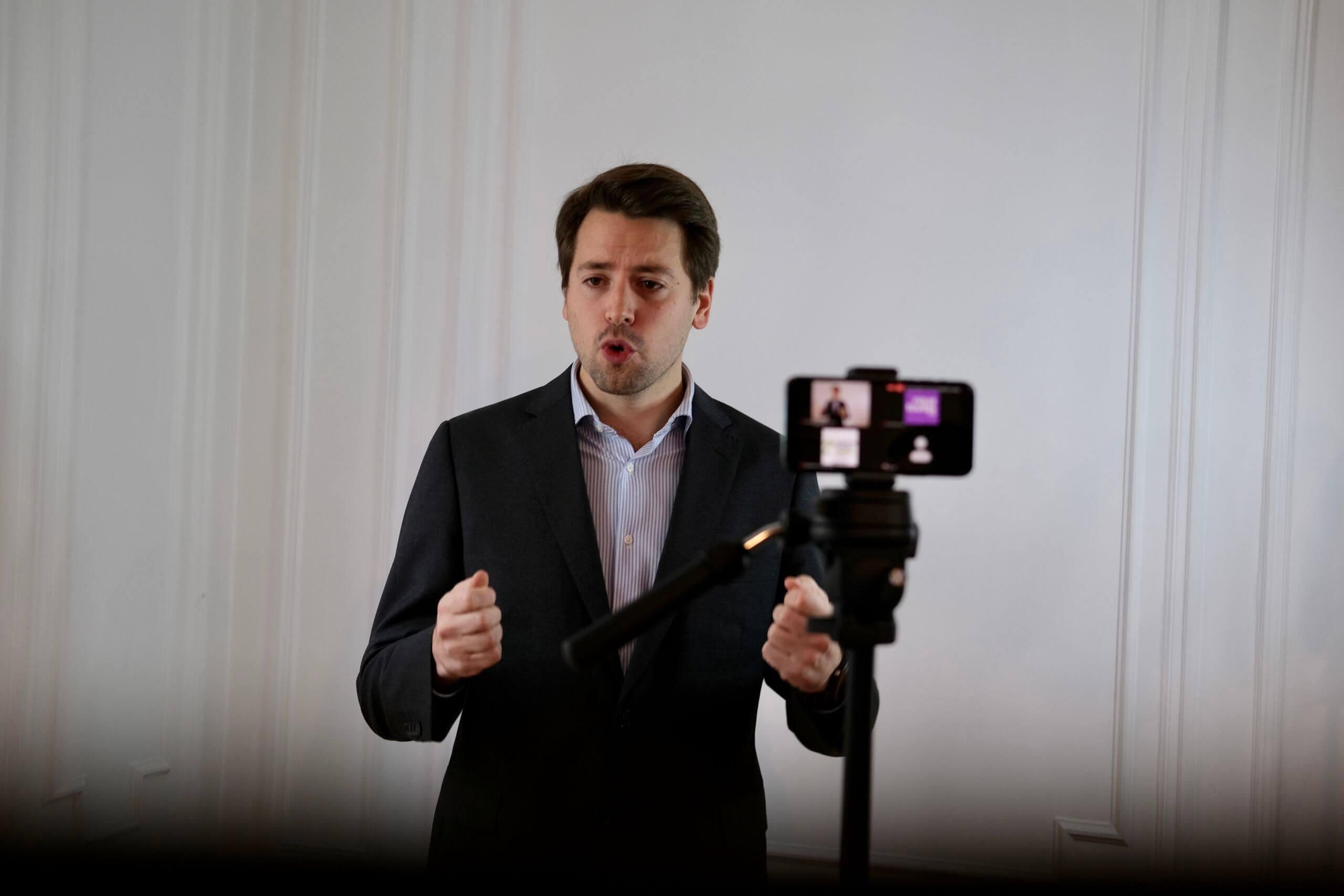 Visuel Meeting numérique sur les libertés : Intervention d'ouverture de Benjamin Lucas