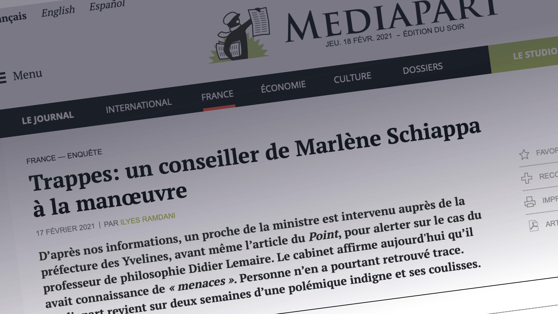 Visuel Révélations de Médiapart : Génération.s écrit à Jean Castex